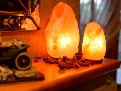 Гималайская соль и соляные лампы